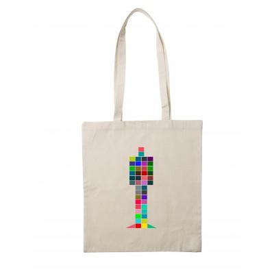 One Person Colour Tote Bag