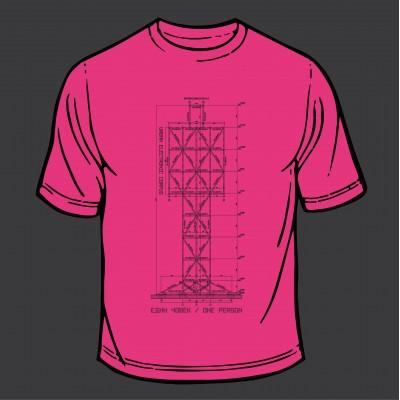 T-Shirt - Scheme (Pink) Black